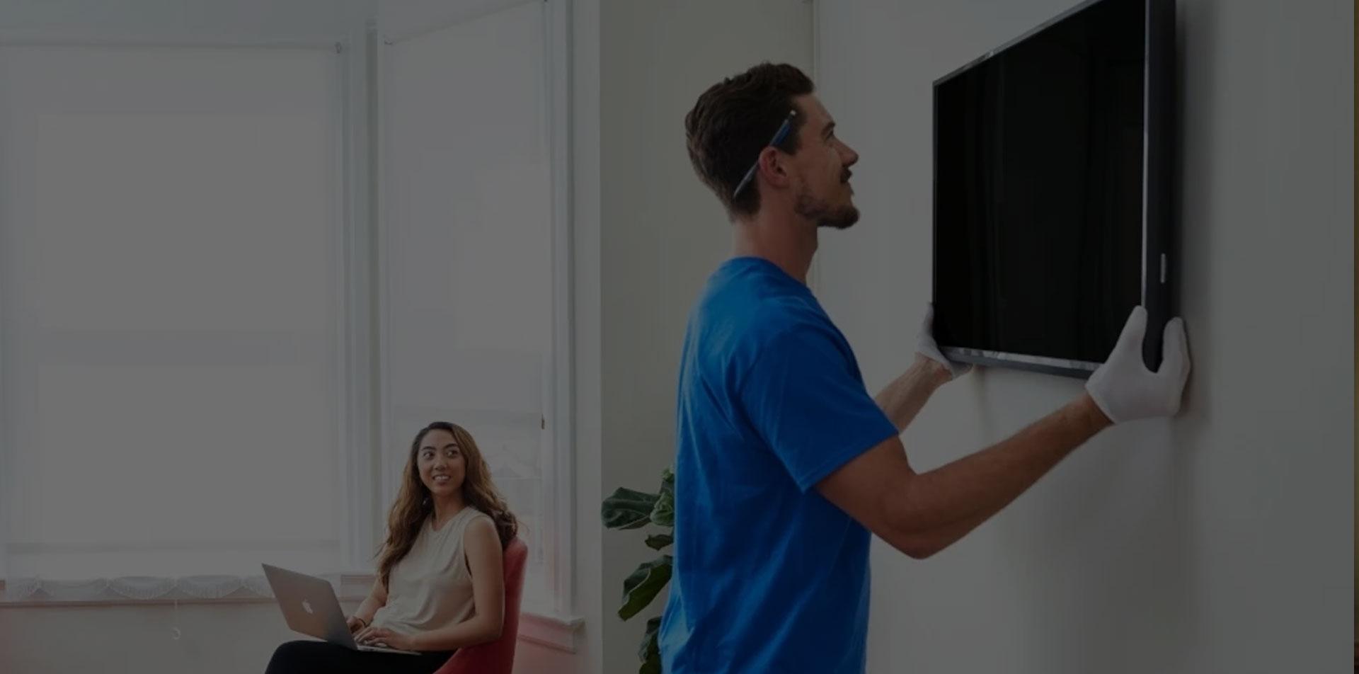 تعمیر صفحه تلویزیون سامسونگ در محل