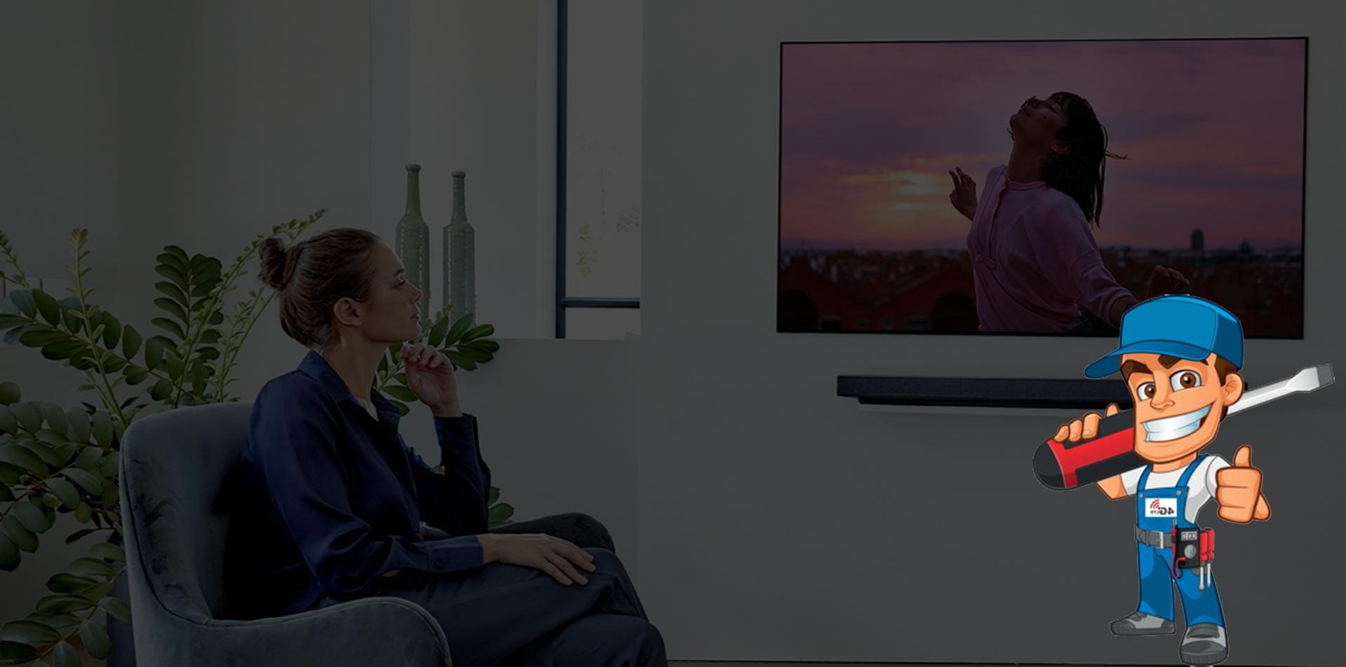 تعمیر تلویزیون پاناسونیک در منزل
