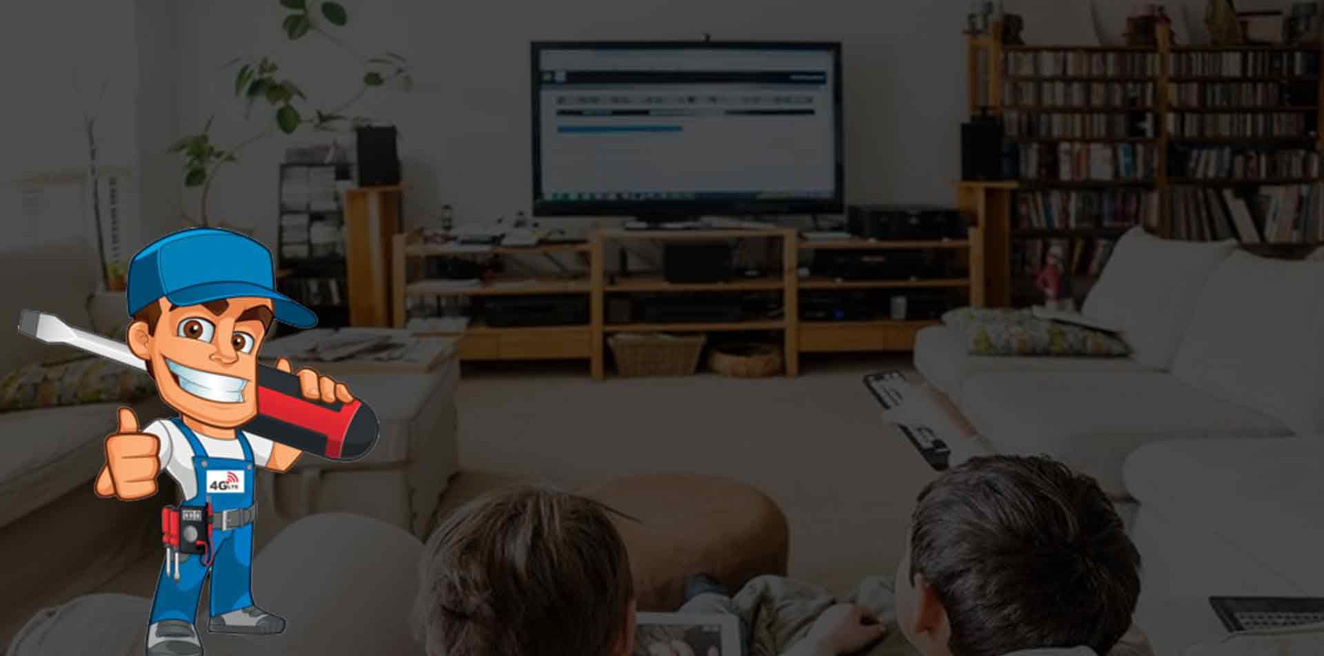 تعمیرات تلویزیون صنام در منزل