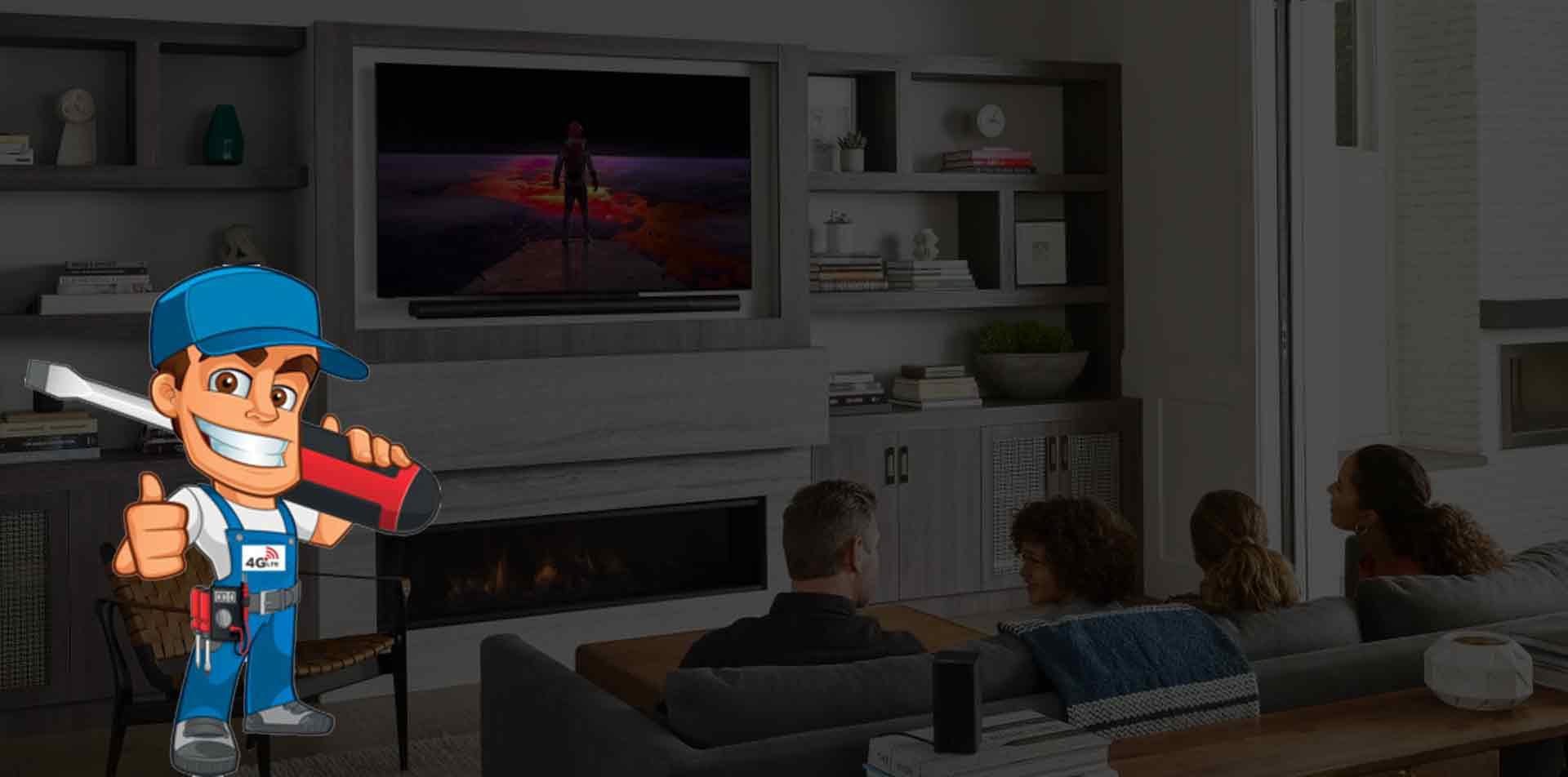 تعمیرات تلویزیون یوتکس ذر منزل