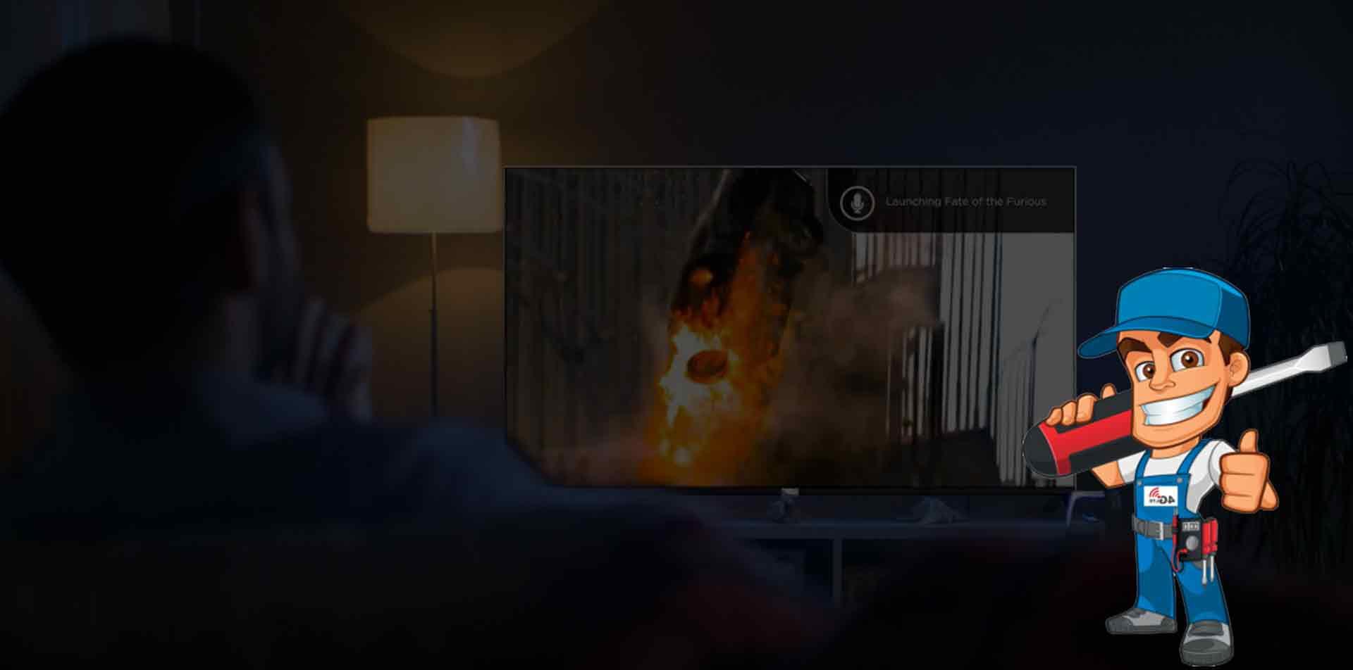 تعمیرات تلویزیون وستل در منزل